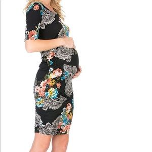 Paisley maternity dress 2/$30